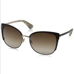 Kate Spade Women's Genice/s Oval Sunglasses